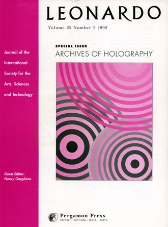 Archives of Holography Edited By Nncy Gorglione