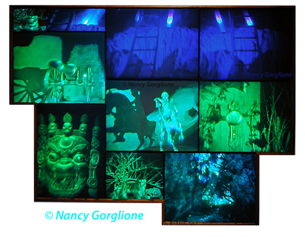 Journey Reflection Hologram Composite by  Nancy Gorglione all rights reserved